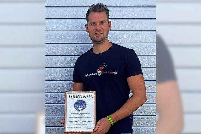 Markus Fehrenbacher ist Ehrenmitglied