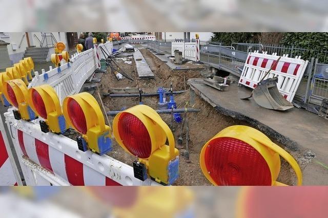 Rheinstraße für Monate gesperrt