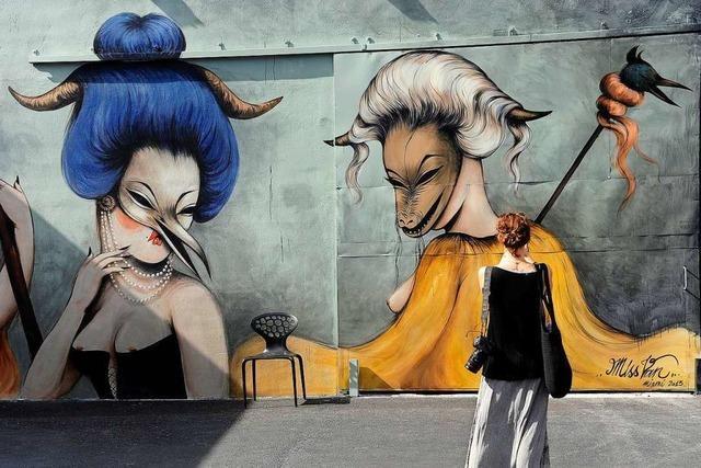 Basel bekommt eine Streetart-Meile für Graffiti