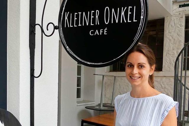 Im Café Kleiner Onkel in Inzlingen trifft Schweden auf Südbaden