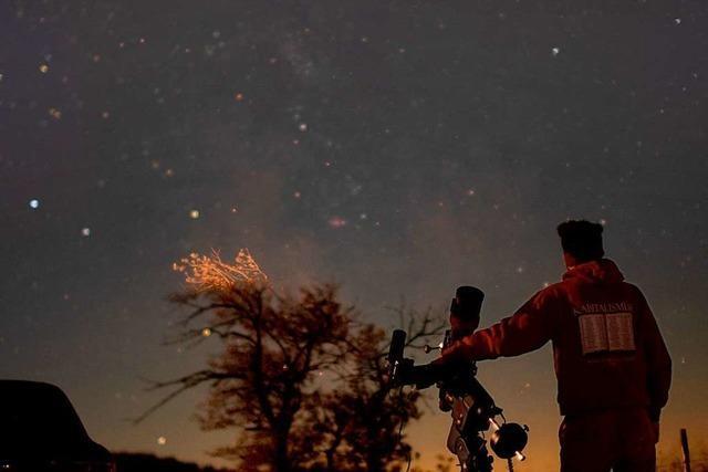 Außergewöhnliches Hobby: Julian Shroff fotografiert nachts den Sternenhimmel