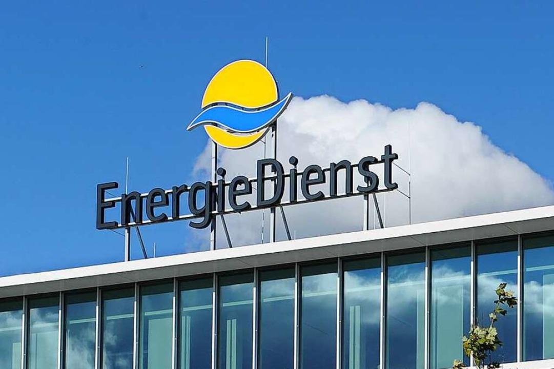 Das Verwaltungsgebäude von Energiedienst in Rheinfelden.    Foto: Juri Junkov