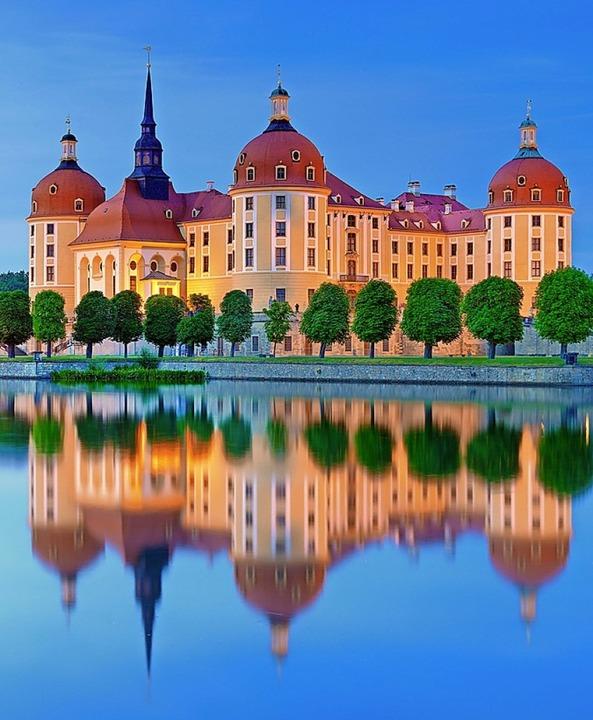 Romantisches Märchenschloss: Schloss Moritzburg  | Foto: FRANCESCO CAROVILLANO