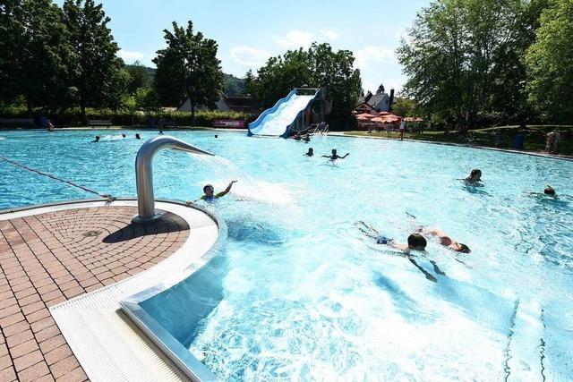 4400 Gäste kühlten sich in der ersten Woche im St. Georgener Freibad ab