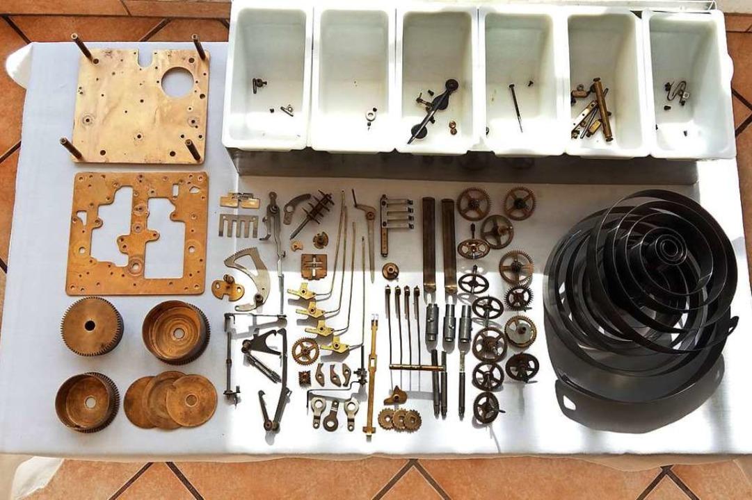 Alle Teile wurden gereinigt, geprüft, ...tzt, geölt und wieder zusammengesetzt.  | Foto: Lukas Rupprecht