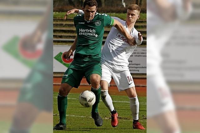 SC Lahr gegen OFV am fünften Spieltag