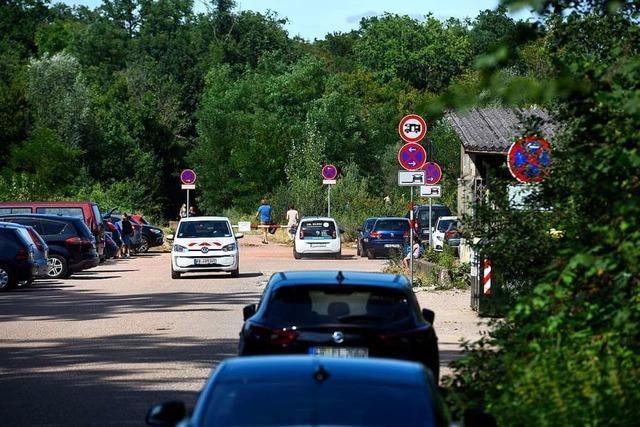 Freiburgs Ordnungsbehörde verteilte am Samstag 96 Knöllchen am Opfinger See