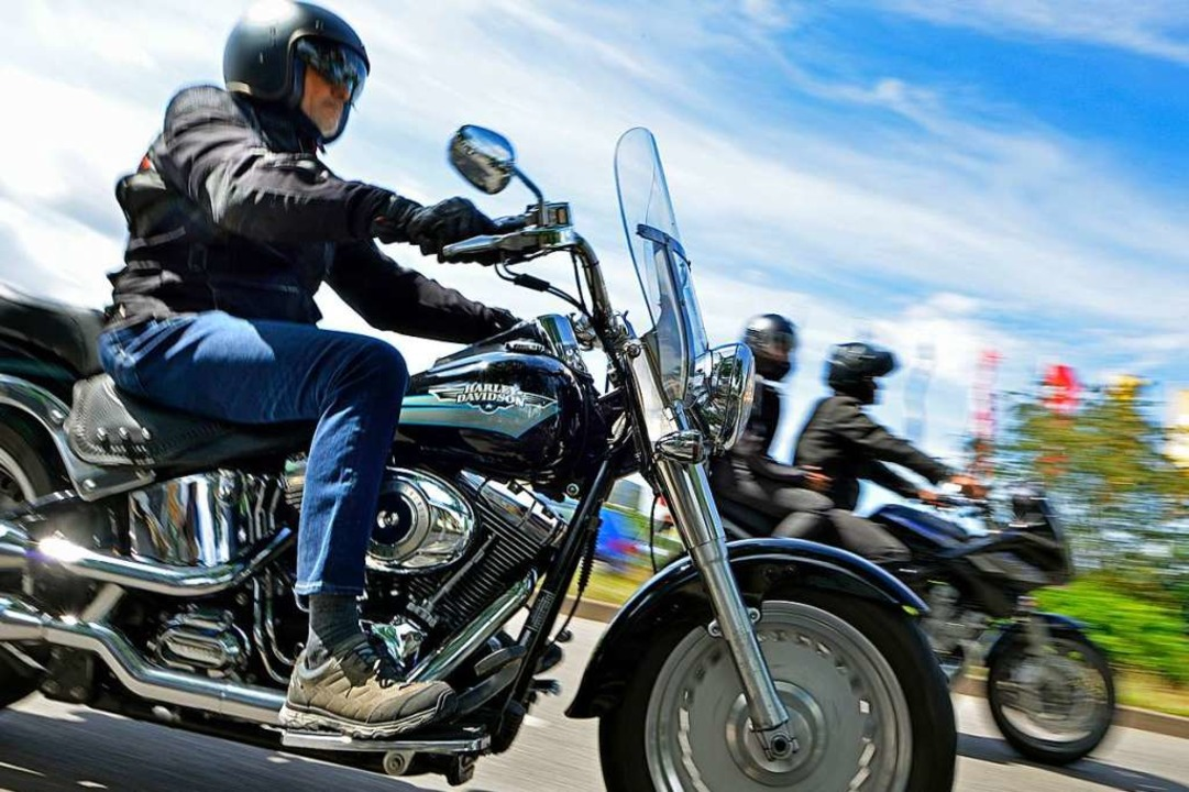 Lärm wie der von Motorrädern ist im Al... vielleicht drängendste Umweltproblem.  | Foto: Michael Bamberger