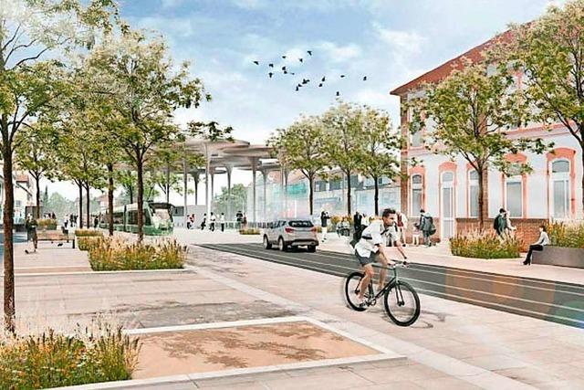 Stadtverwaltung hält an IBA-Projekt Am Zoll Lörrach/Riehen fest