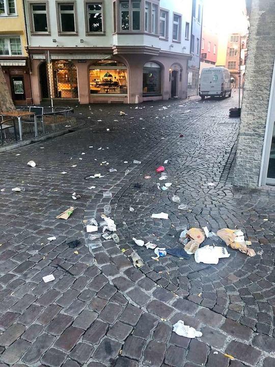 Auch im Bermudadreieck liegt viel Müll.  | Foto: Joachim Röderer