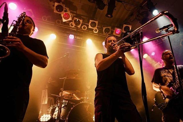 So hat Posaunist Nicolas Scherger das Streaming-Konzert von No authority aus Lahr erlebt