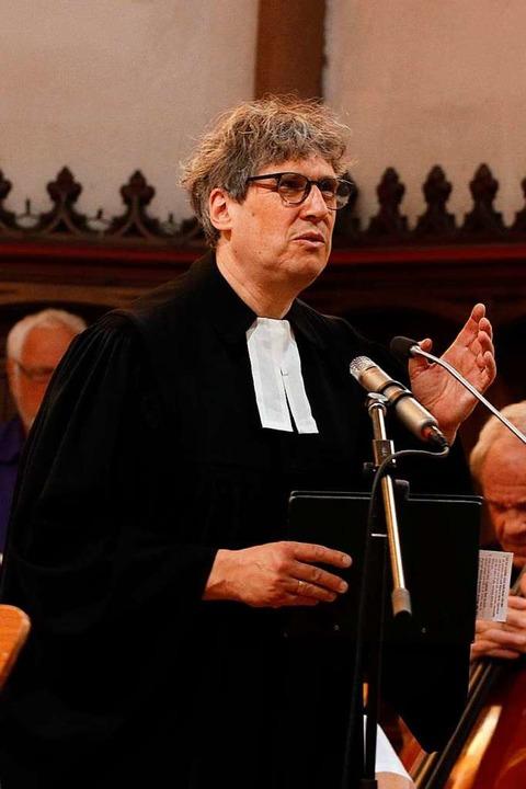 Pfarrer Markus Luy  | Foto: Heidi Fößel