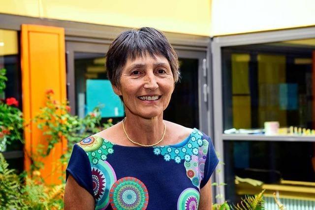 Rektorin Claudia Kunz hat am Mittwoch ihren letzten Schultag