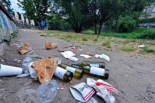Corona-Krise verschärft das Müllproblem in Freiburg