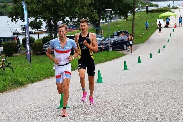 Der Zeller Triathlet Magnus Männer und das beste Rennen seines Lebens