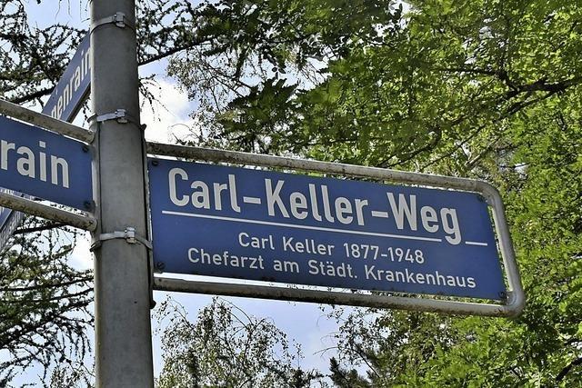 SPD Lörrach will den Carl-Keller-Weg umbenennen