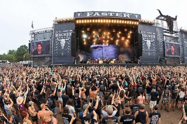 Wackener Heavy-Metal-Festival startet am Mittwoch – als Livestream