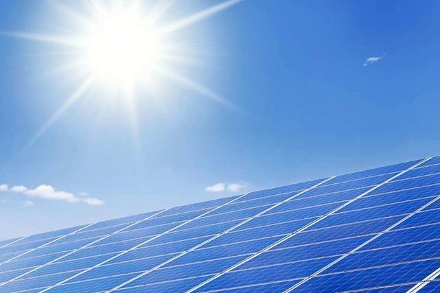 Badenova erhält Zuschlag für ein Solarkraftwerk im Elsass