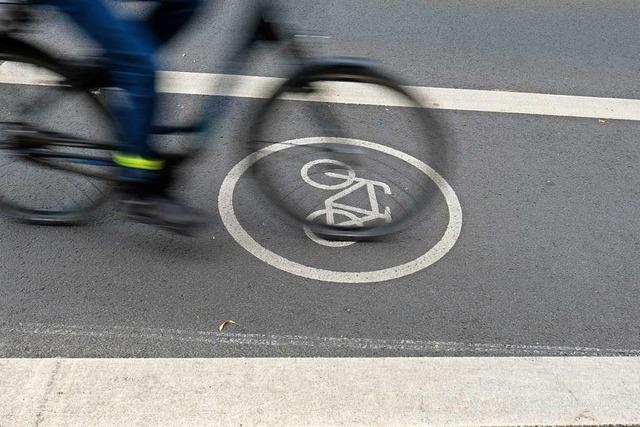 Radschnellweg aus dem Norden nach Freiburg soll 2028 fertig sein