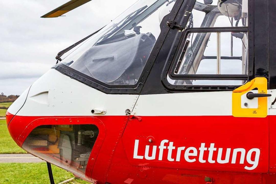 Zwei neue Standorte für Rettungshubsch...ll bei Ludwigsburg stationiert werden.  | Foto: Carlotta Huber