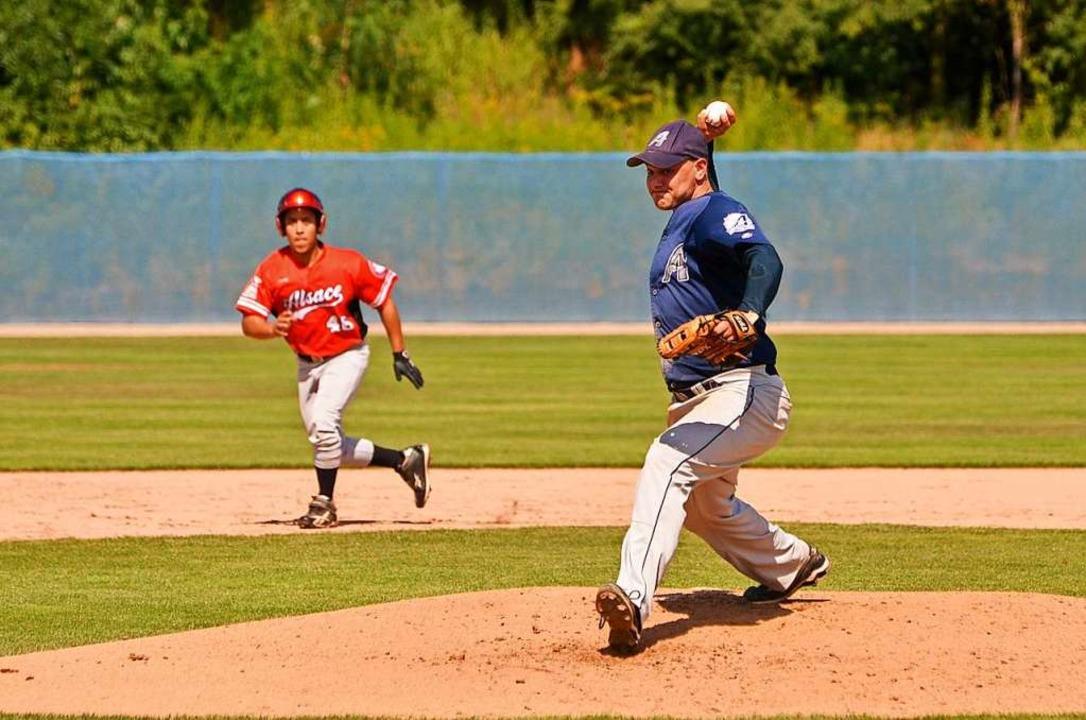 Die Baseballer aus Neuenburg spielen d...inne des Wortes in einer eigenen Liga.  | Foto: privat