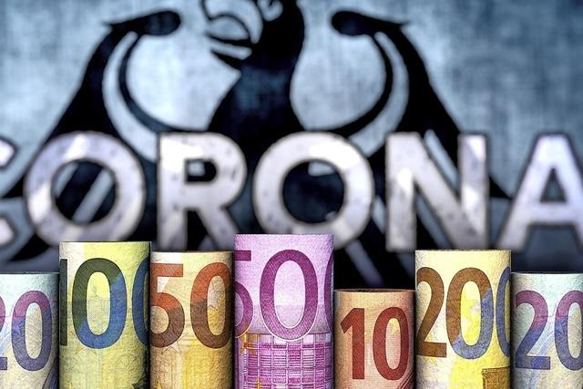 Das städtische Geld saust auf einer Achterbahn