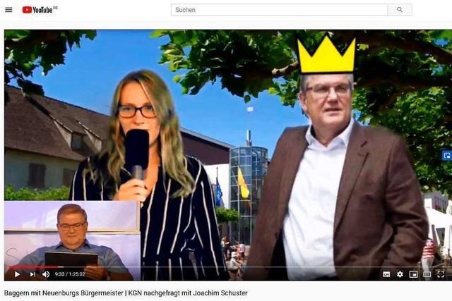 Neuenburgs Bürgermeister war zu Gast beim Talk