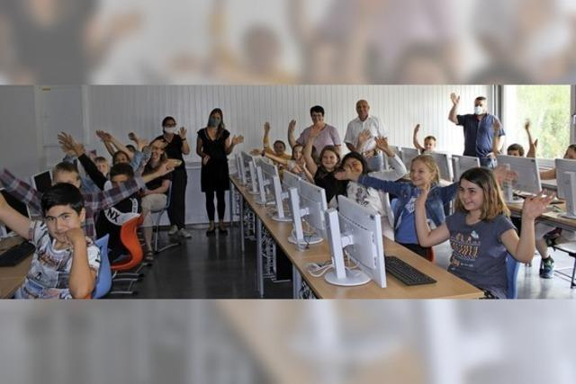Neuer PC-Raum für die Fritz-Boehle-Grundschule