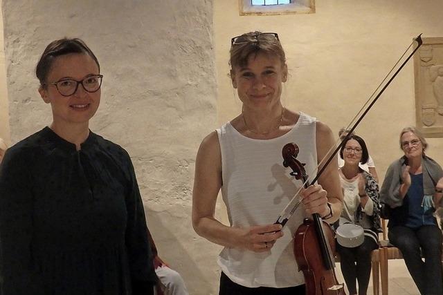 Endlich wieder Musik in St. Cyriak in Sulzburg