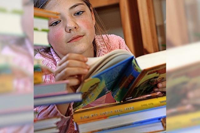 Lesespaß in den Sommerferien