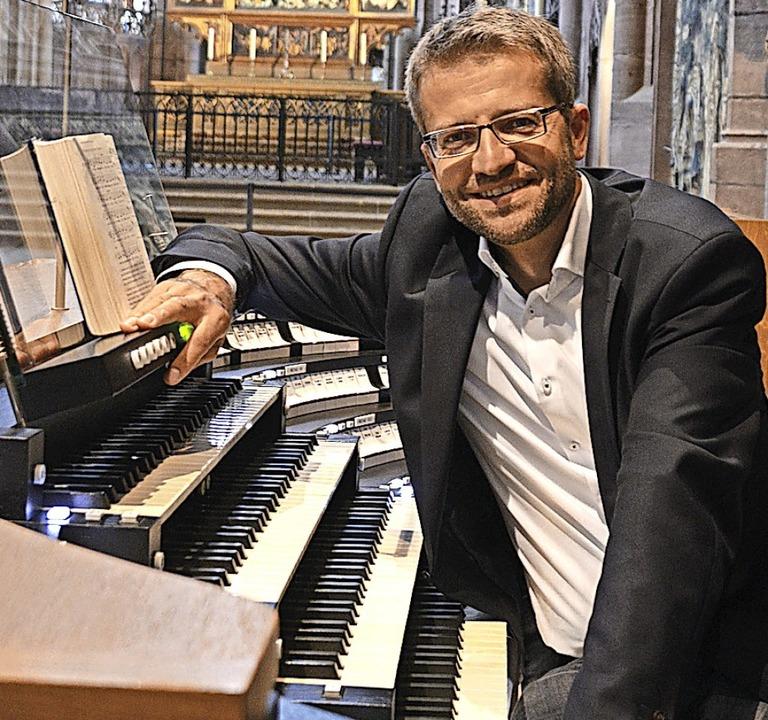 Münsterorganist Jörg Josef Schwab  | Foto: Georg Auer