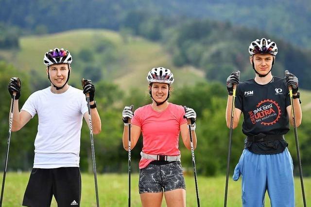 Wie die Zipfel-Brüder: Jugendtrio des SV Kirchzarten im Nationalkader