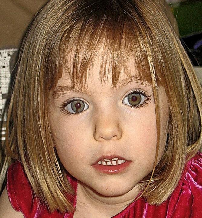 13 Jahre vermisst: Maddie McCann  | Foto: --- (dpa)