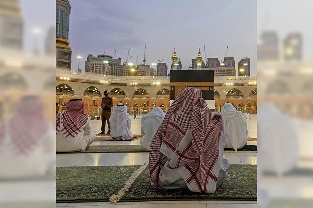 Nur wenige tausend Muslime dürfen zum Hadsch