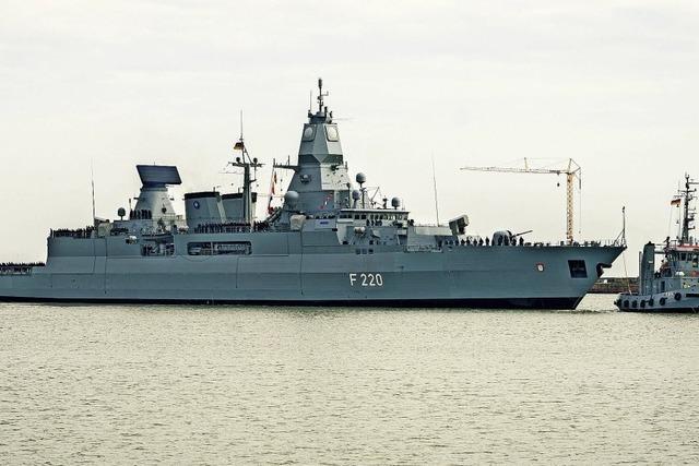 Fregatte nach Libyen