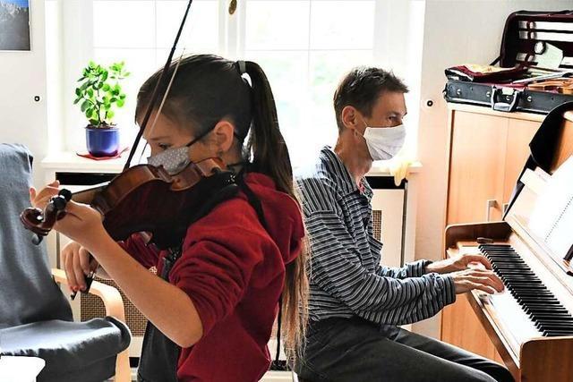 Die Lörracher Musikschule arbeitet auf den Neustart im September hin