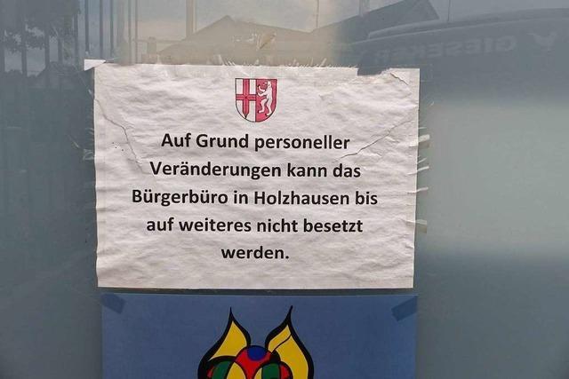 Das Bürgerbüro Holzhausen ist eine Extrawurst, die kaum einer will