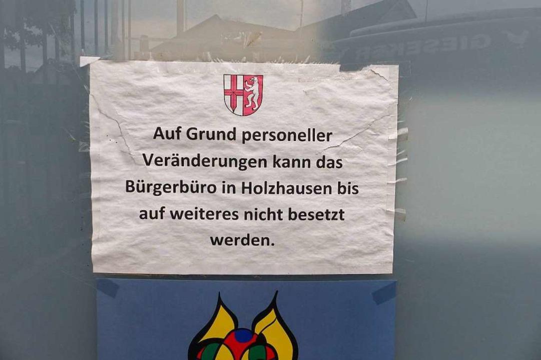 Derzeit, wie meistens in den letzten J...   Öffnungszeiten im Marcher Rathaus.   | Foto: Claudia Bachmann-Goronzy