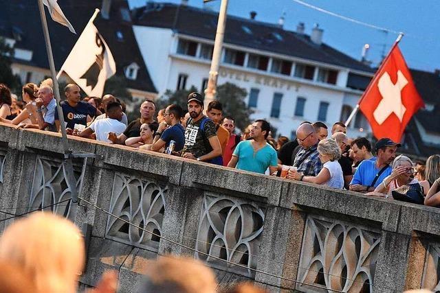 Zum Nationalfeiertag gibt es in Basel keine offiziellen Feiern