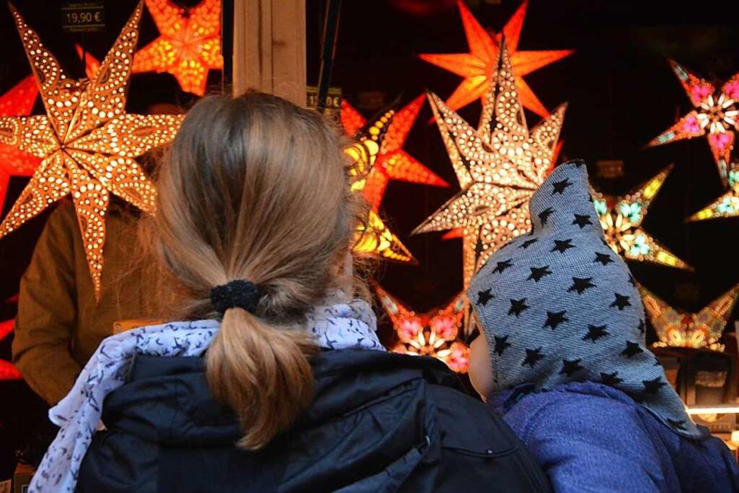 In diesem Jahr fällt der Lörracher Weihnachtsmarkt klein aus.  | Foto: Barbara Ruda