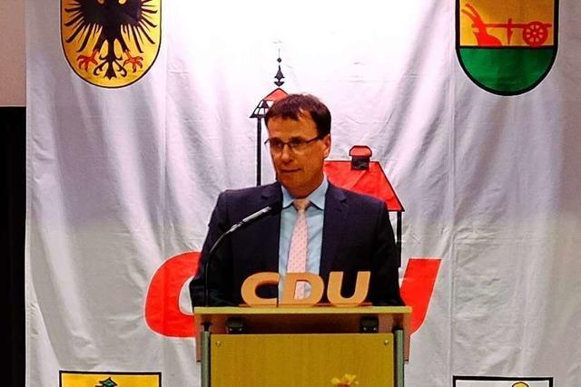 CDU nominiert erneut Volker Schebesta im Wahlkreis Offenburg