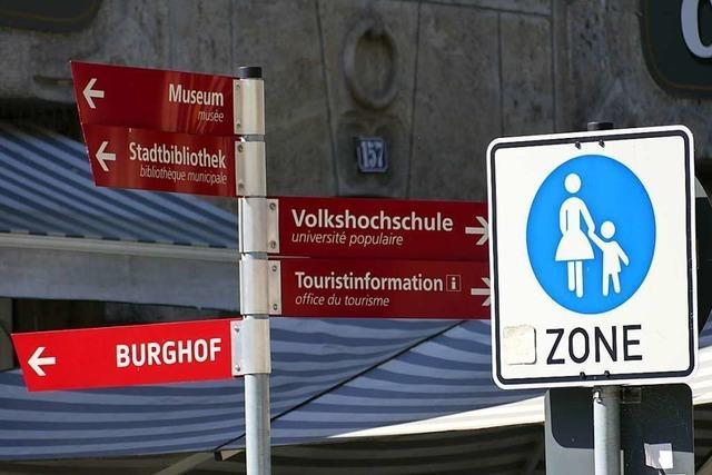 Im Herbst soll entschieden werden, ob Radfahrer aus der Fußgängerzone verbannt werden