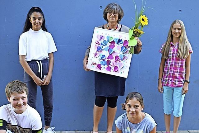 Schule profitierte von ihrem Mut zu Neuem