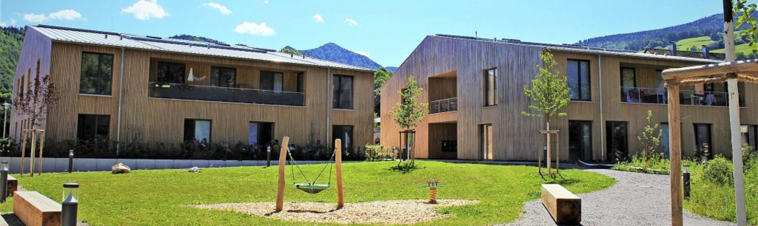 Die beiden Gebäudekomplexe des Ursulin...r Wohngruppe,  jeweils im Erdgeschoss   | Foto: Erich Krieger