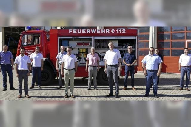 Feuerwehrzweckverband hat ein neues Mitglied