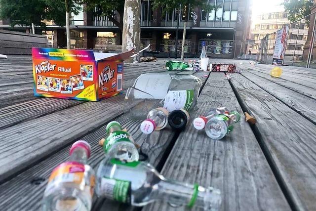 Ab Samstag gelten in Freiburg höhere Bußgelder für illegales Müllablegen