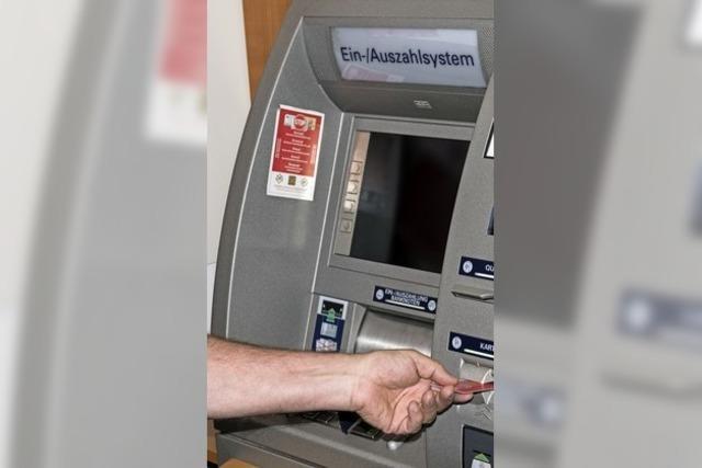 Geldautomat bleibt vorerst