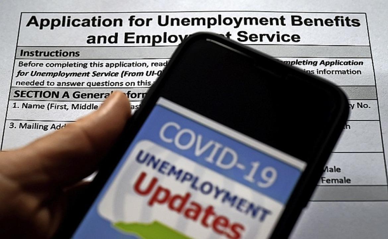 Viele US-Burger melden sich arbeitslos.  | Foto: OLIVIER DOULIERY (AFP)