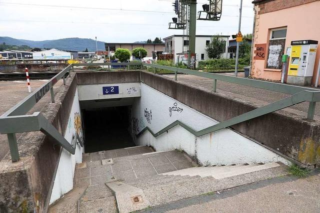 Die Aussichten auf einen barrierefreien Bahnhof sind ungünstig