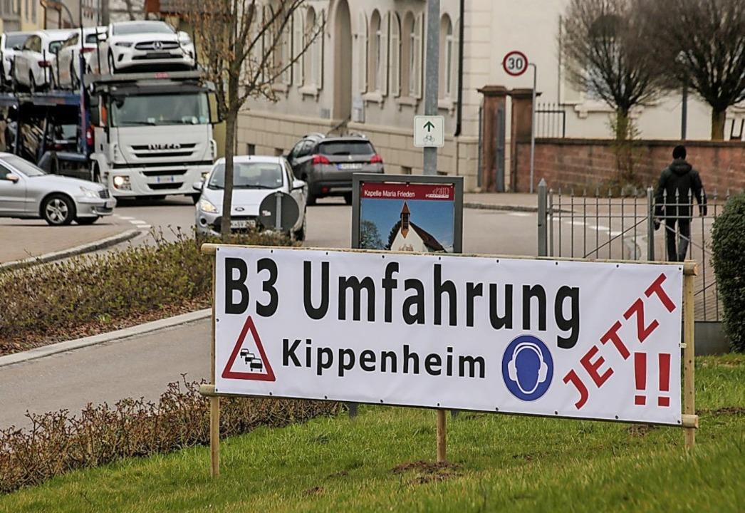 Wird von Kippenheim gefordert: die B3-Umfahrung     Foto: Sandra Decoux-Kone